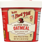 Bob's Red Mill - Gluten Free Oatmeal Cup Apple and Cinnamon - 2.36 oz - Case of 12