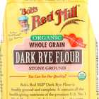 Bob's Red Mill - Organic Dark Rye Flour - 22 oz - Case of 4