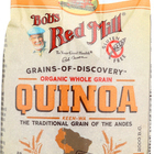 Bob's Red Mill Organic White Quinoa - 26 oz - Case of 4