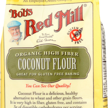 Bob's Red Mill Organic Coconut Flour - 16 oz - Case of 4
