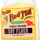 Bob's Red Mill Organic Soy Flour - 16 oz - Case of 4