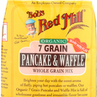 Bob's Red Mill - Organic 7 Grain Pancake and Waffle Mix - 26 oz - Case of 4