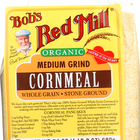 Bob's Red Mill - Organic Medium Grind Cornmeal - 24 oz - Case of 4