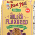 Bob's Red Mill Organic Raw Whole Golden Flaxseeds - 24 oz - Case of 4