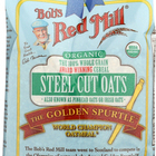 Bob's Red Mill Organic Steel Cut Oats - 24 oz - Case of 4