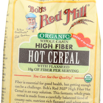 Bob's Red Mill - Organic Whole Grain High Fiber Hot Cereal - 16 oz - Case of 4