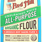 Bob's Red Mill - Organic Unbleached White All-Purpose Flour - 5 lb - Case of 4