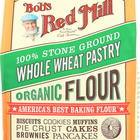 Bob's Red Mill - Organic Whole Wheat Pastry Flour - 5 lb - Case of 4
