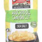 Boulder Canyon - Avocado Oil Canyon Cut Potato Chips - Sea Salt - Case of 12 - 5.25 oz.