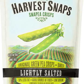Calbee Snapea Crisp - Snapea Crisps - Lightly Salted - Case of 12 - 3.3 oz.