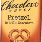 Chocolove Xoxox - Premium Chocolate Bar - Milk Chocolate - Pretzel - 2.9 oz Bars - Case of 12
