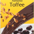 Chocolove Xoxox Dark Chocolate Covered Almond Toffee - Case of 6 - 3 oz.