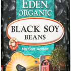 Eden Foods Organic Black Soy Beans - Case of 12 - 15 oz.