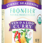 Frontier Herb Vindaloo Curry Seasoning - Organic - 1.9 oz