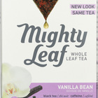 Mighty Leaf Tea Black Tea - Vanilla Beans - Case of 6 - 15 Bags