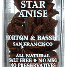 Morton and Bassett Seasoning - Star Anise - .6 oz - Case of 3