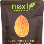 Next Organics Organic Dark Chocolate - Almonds - Case of 6 - 4 oz.