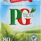 PG Tips Black Tea - Pyramid - Case of 12 - 80 Bags