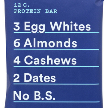 RxBar - Protein Bar - Blueberry - Case of 12 - 1.83 oz.