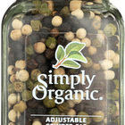 Simply Organic Get Crackin Peppercorn Mix - Organic - Grinder - 3 oz