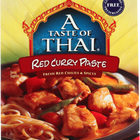 Taste of Thai Red Curry Paste - 1.75 oz - Case of 6