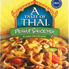 Taste of Thai Peanut Mix Sauce - 3.5 oz - Case of 6