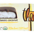 Theo Chocolate Coconut Bites - Dark Chocolate Classic Coconut - Case of 12 - 1.3 oz.
