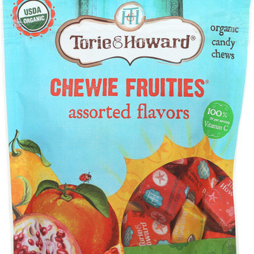 Torie and Howard Chewie Fruities - Assorted - Case of 6 - 4 oz.