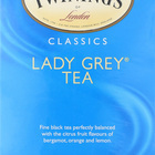 Twining's Tea Black Tea - Lady Grey - Case of 6 - 20 Bags