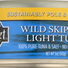 Wild Planet Wild Skipjack Light Tuna - Case of 12 - 5 oz.