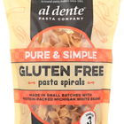 Al Dente - Gluten Free Pasta Spirals - Pure and Simple - Case of 6 - 8 oz.