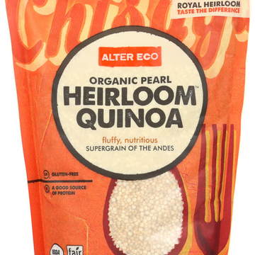 Alter Eco Americas Quinoa - Organic Pearl Heirloom - Case of 6 - 12 oz.