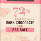 Salazon Chocolate Dark Chocolate - Sea Salt - Case of 12 - 2.75 oz.
