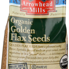 Arrowhead Mills Organic Flax Seeds - Golden - Case of 6 - 14 oz.