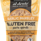 Al Dente - Gluten Free Pasta Spirals - Garlic Parsley - Case of 6 - 8 oz.