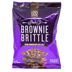 Dark Chocolate Sea Salt Brownie Brittle