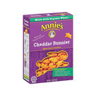 Annie's Homegrown Cheddar Bunnies Baked Snack Crackers - Case of 12 - 7.5 oz.