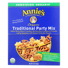 Annie's Homegrown Organic Traditional Party Mix - Case of 12 - 9 oz.