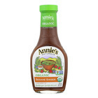 Annie's Naturals Vinaigrette Organic Sesame Ginger - Case of 6 - 8 fl oz.