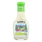 Annie's Naturals Organic Dressing Creamy Asiago Cheese - Case of 6 - 8 fl oz.