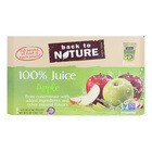 Back To Nature Juice - Apple - Case of 5 - 6 Fl oz.