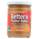 Better 'N Peanut Butter Peanut Butter - Original Flavor - Case of 6 - 16 oz.