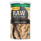 Better Oats Organic Cereal - Steel Cut Oats - Case of 12 - 30 oz.