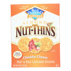 Blue Diamond - Nut Thins - Cheddar Cheese - Case of 12 - 4.25 oz.