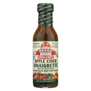 Bragg - Organic Raw Apple Cider Vinaigrette Dressing - Case of 6 - 12 Fl oz.