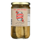Brooklyn Brine - Pickles - New York City Deli - Case of 12 - 24 oz.