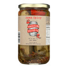Brooklyn Brine - Pickles - Damn Spicy - Case of 12 - 24 oz.