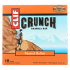 Clif Bar Organic Crunch Granola Bar - Peanut Butter - Case of 12 - 1.5 oz.