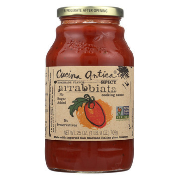 Cucina Antica - Spicy Arrabbiata Cooking Sauce - Case of 12 - 25 oz.
