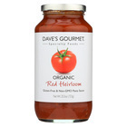 Dave's Gourmet - Organic Red Heirloom Pasta Sauce - Case of 6 - 25.5 FL oz.